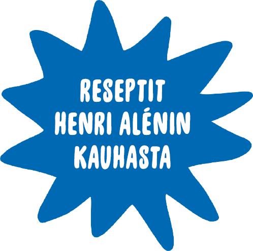 Reseptit Henri Alénin kauhasta